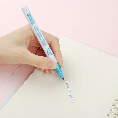 8Pcs Highlighter Pens Cute Art Fluorescent Pen