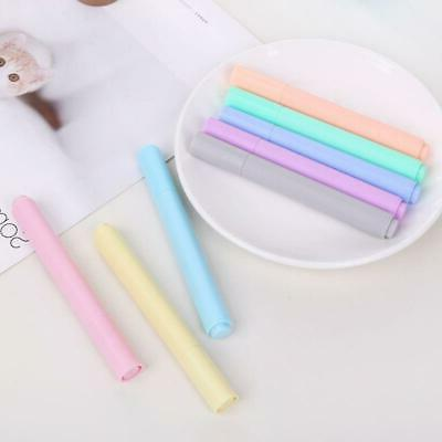 8pcs/set Highlighter Fluorescent Pen Color Drawing