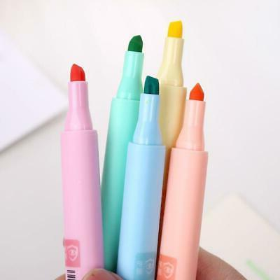 8pcs/set Highlighter Fluorescent Pen Candy Color Drawing