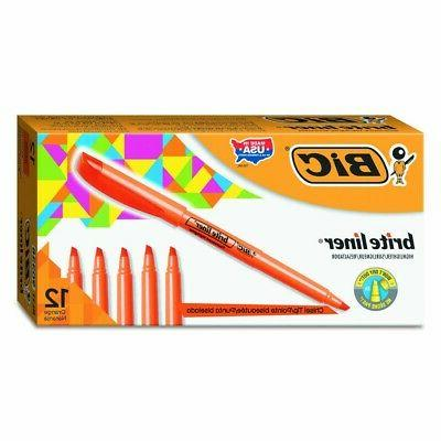 Wholesale CASE of 25 - Bic Brite Liner Highlighters-Highligh
