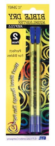 Bible Dry Refill - 2/Pack Yellow