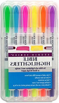 Bible Safe Highlighter 6 Assorted Colors Journaling Supplies