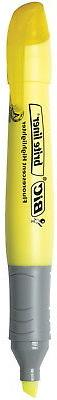 BIC Brite Liner Grip XL Non-Toxic Tank Style Highlighter, Ch