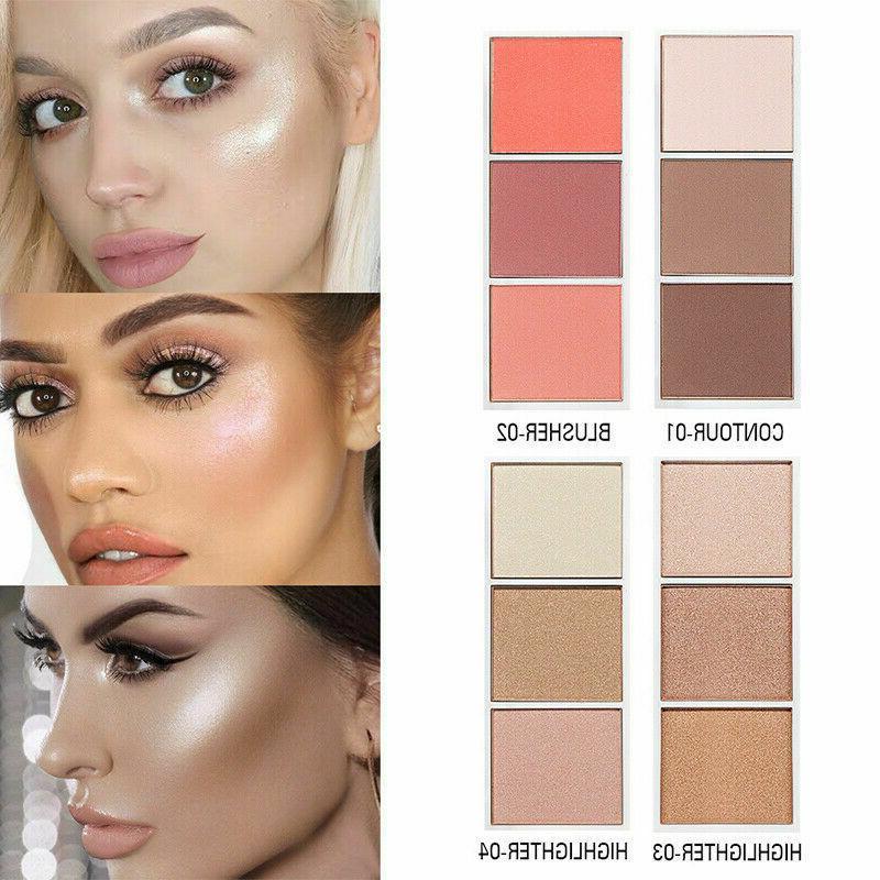 bronzer makeup highlighter powder face highlighter palette