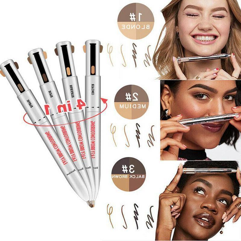 Brow Contour 4-In-1 Defining Highlighting Brow Pencil Eyelin