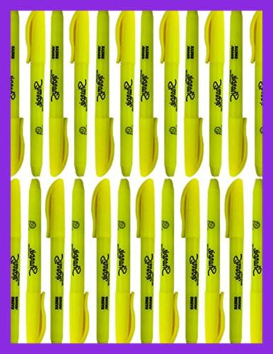 Bulk Accent Pocket-Style Highlighters Tip