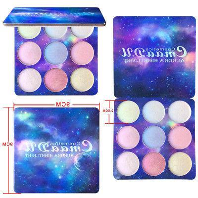 CmaaDu 9 Palette Makeup Kit Brighten