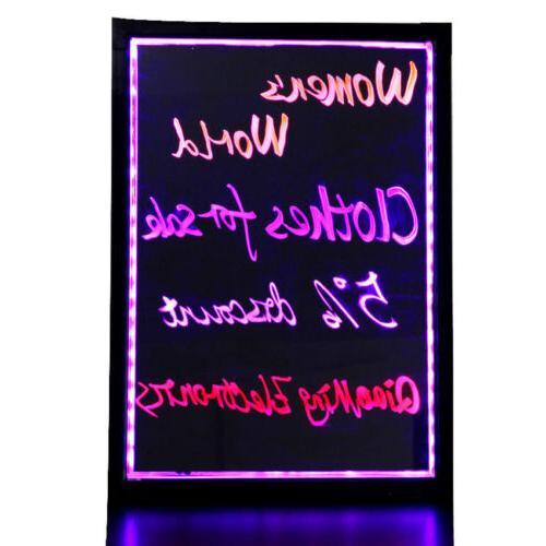 Dual Nib Liquid LED Fluorescent Neon Marker