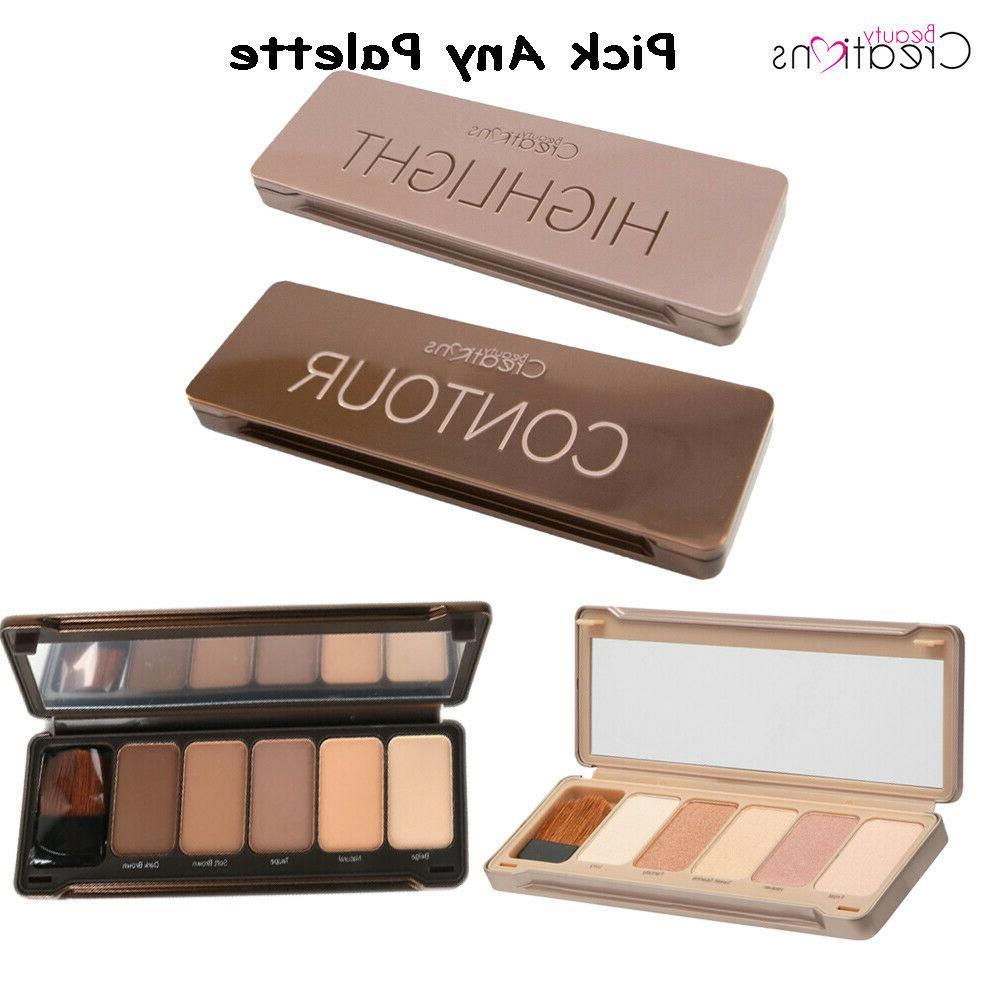 contour or highlight face palette