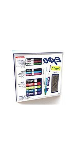 Expo Low Odor 12 Piece Assorted Tip Dry Erase Marker Set