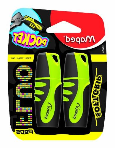 fluo peps mini highlighters
