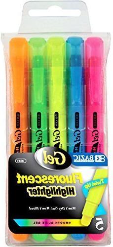 Fluorescent Gel Highlighter Set 144 pcs SKU# 1931458MA