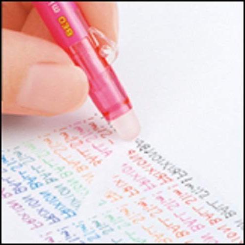 Pilot Retractable Erasable Pens, Extra Point, 0.38 color refills