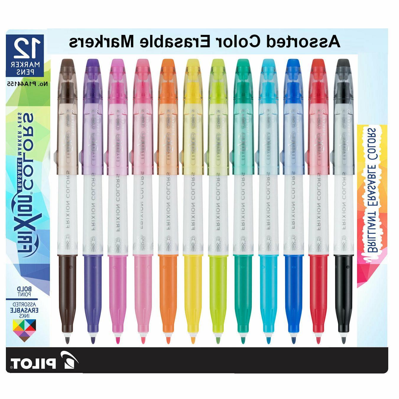 frixion erasable marker pen bold
