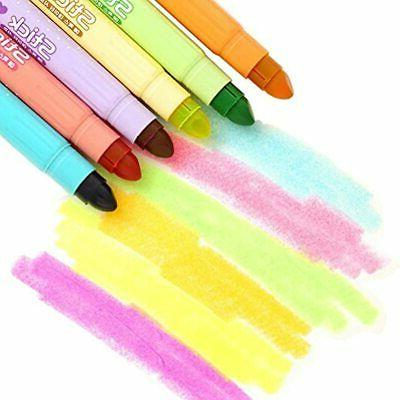 Gel Highlighter Solid Highlighters Assorted Colors, Of 6 Office