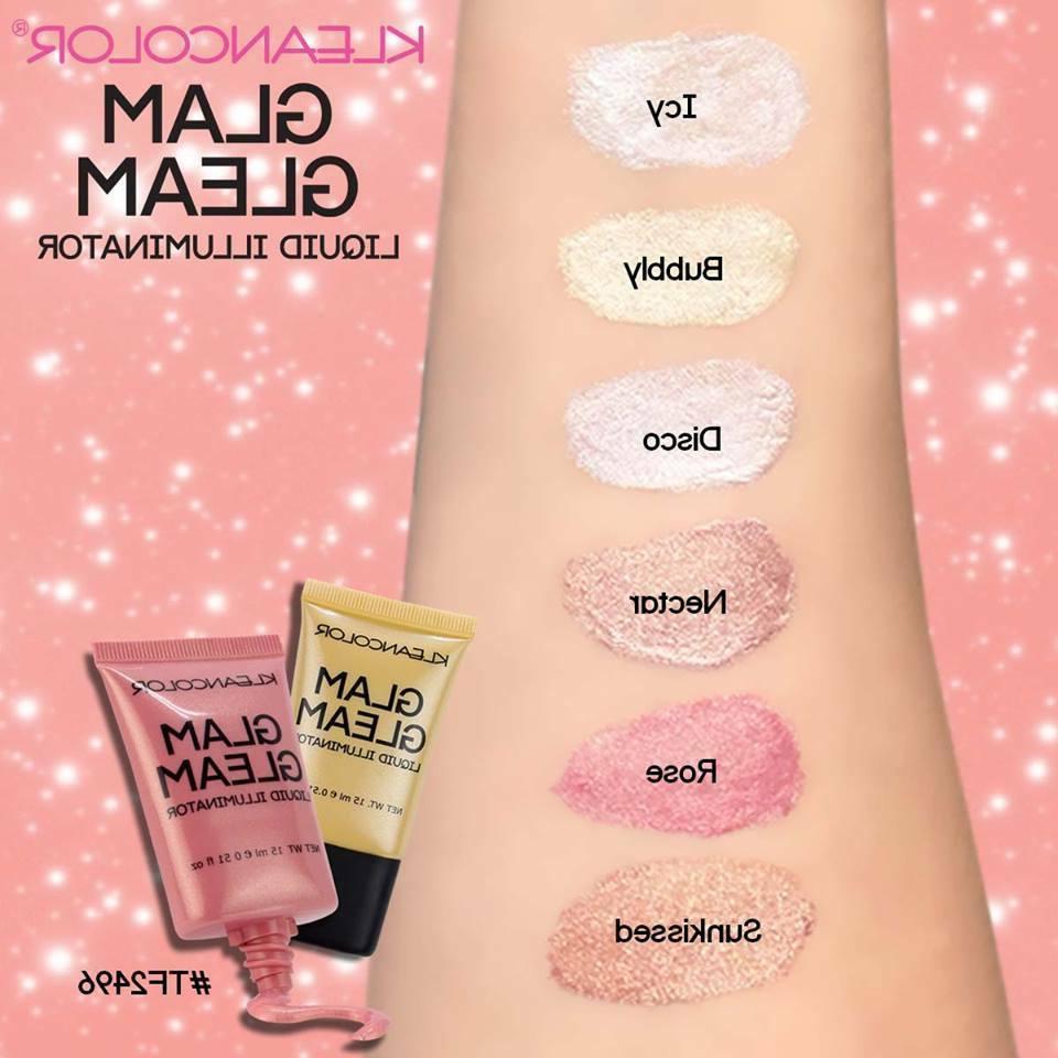glam gleam liquid illuminator cream highlighter new
