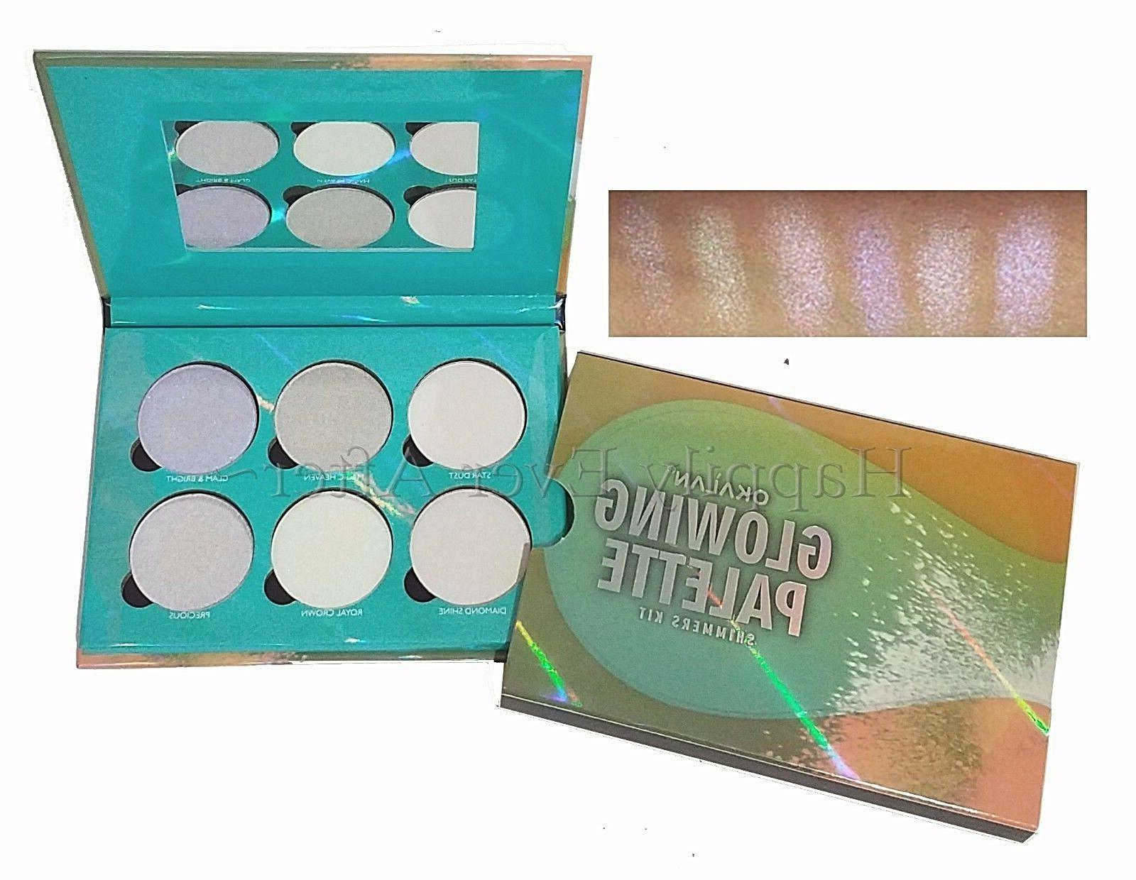glowing palette glow kit highlighter palette highlighters