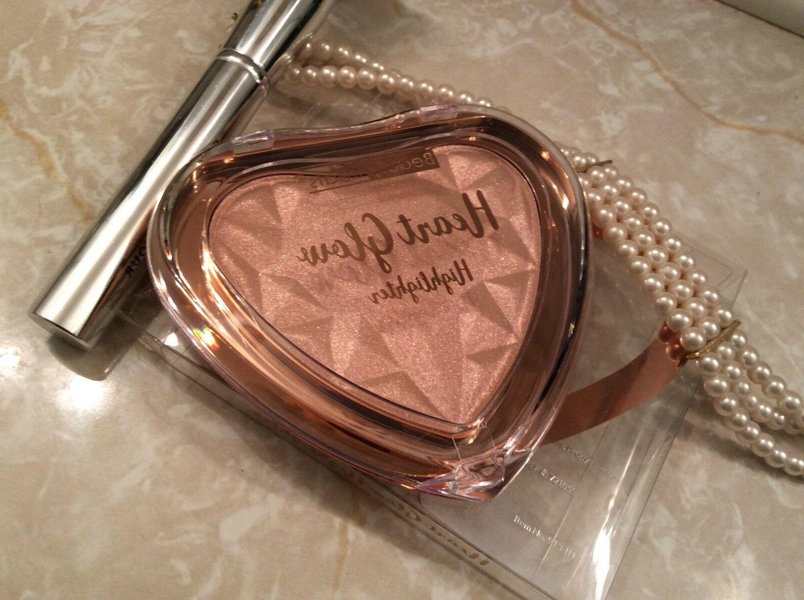 heart highlighter pigmented highlighter powders for face