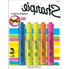 Sharpie Highlighter - 5 Highlighter- 1 Package