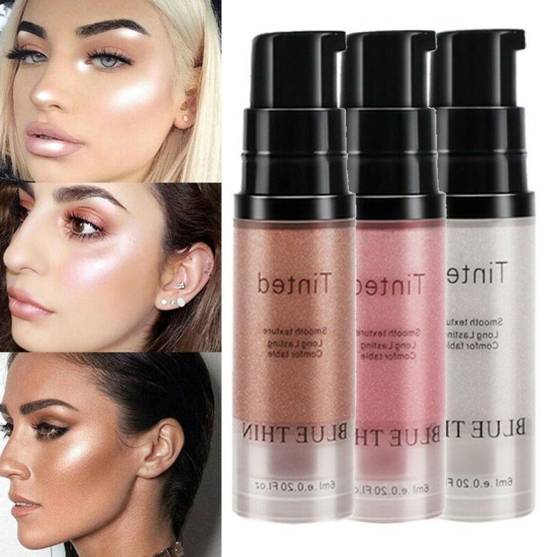 highlighter makeup gold liquid face eye contour