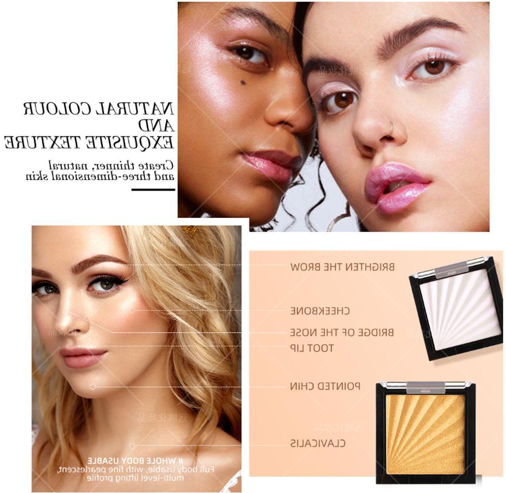Highlighter Powder Palette Concealer Face Bronzer