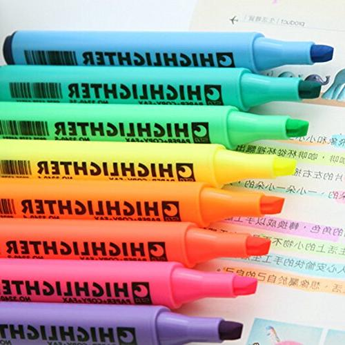 Multi-Color Pen Paint Coloring Highlighters Pack of