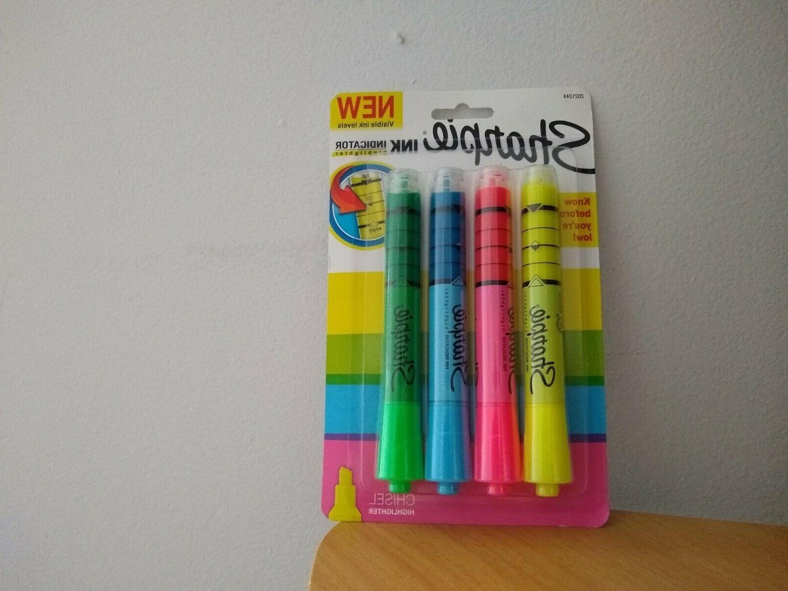 ink indicator highlighter stick
