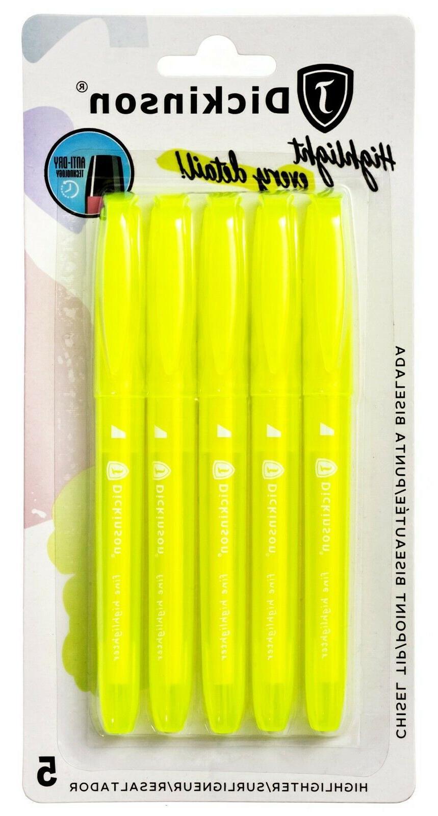 j dickinson bible safe fine highlighters fluorescent