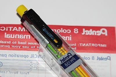 Japan MULTI colors Highlighter Mechanical Pencil Clip