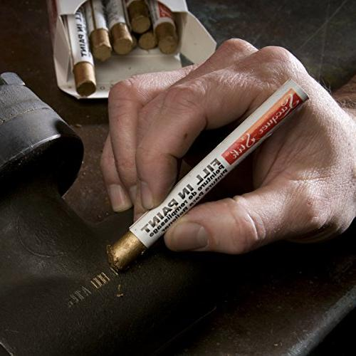 "Markal Lacquer-Stik Highlighter Paint 4-1/4"" Length, Black"