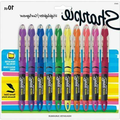 Sharpie® Liquid Highlighters, Assorted Of 10