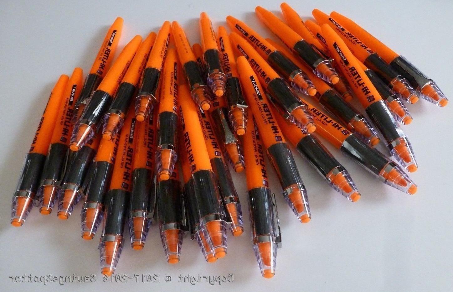 lot of 32 smearsafe hi liters highlighters