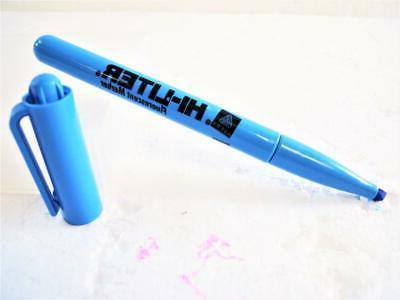 Original Avery Blue Highlighter  12 Chisel Tip Pen Style 235