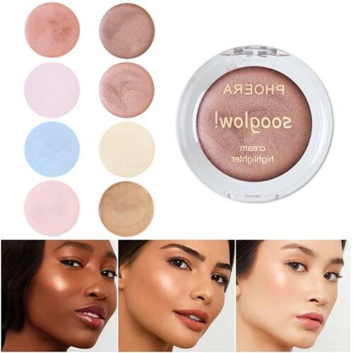 phoera 8 colors highlighter makeup face foundation
