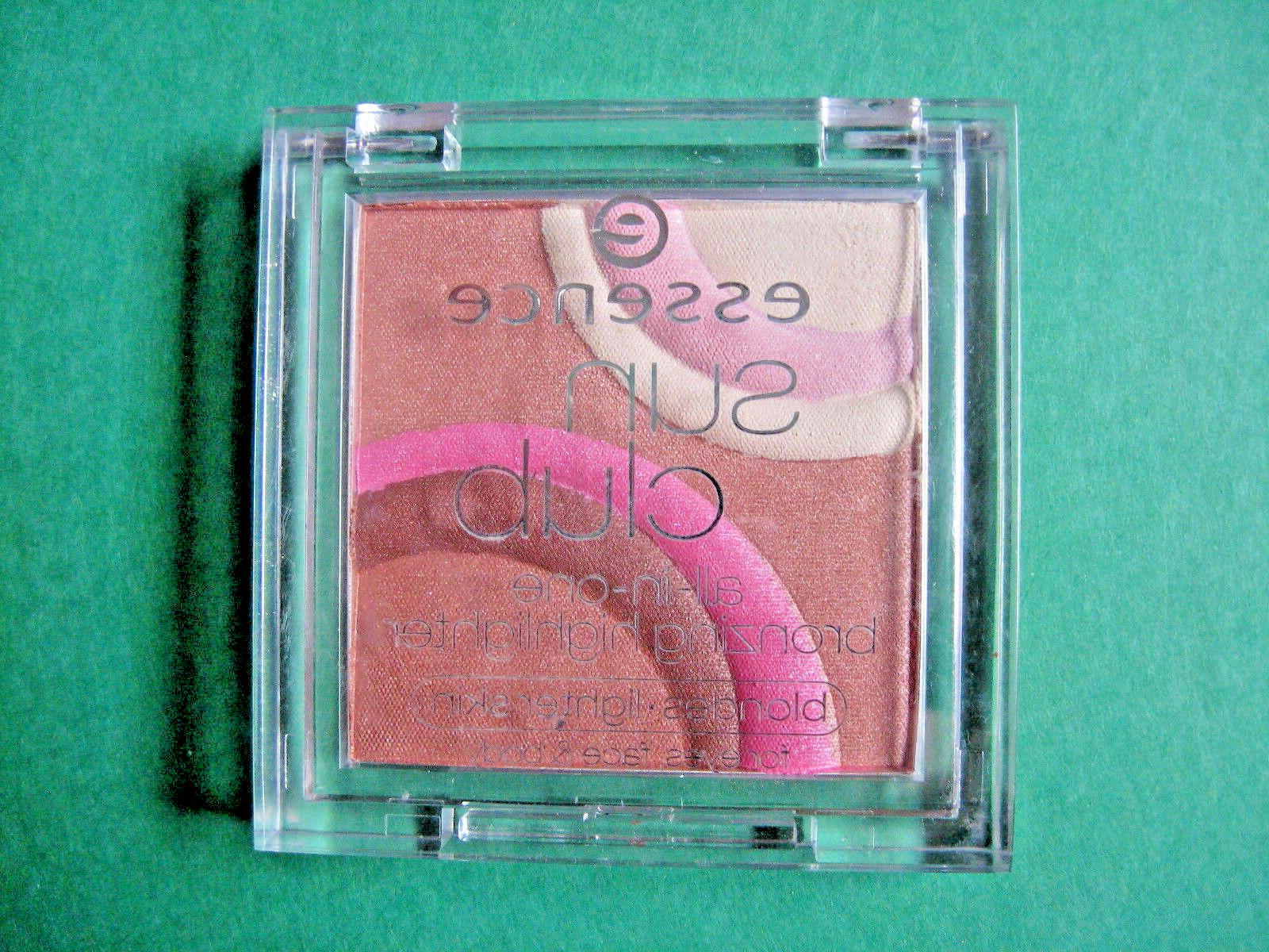 sun club all in one bronzing highlighter