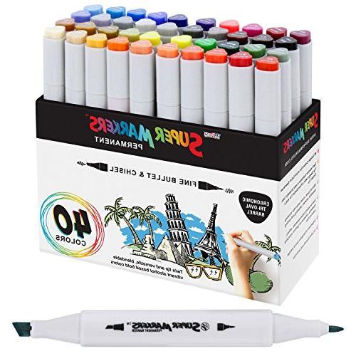 super markers primary tones dual