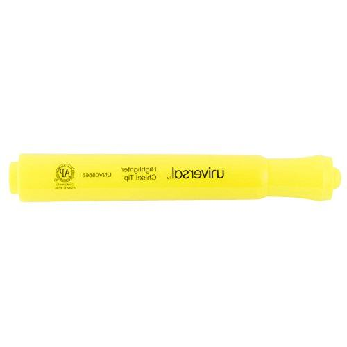 unv08866 fluorescent yellow chisel tip