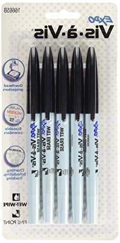 EXPO 16665B Vis-A-Vis Wet-Erase Overhead Transparency Marker