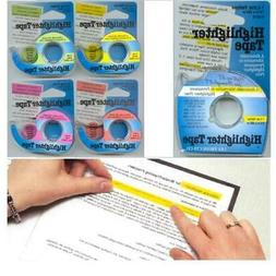 Lee Products Company LEE13975 Removable Highlighter Tape Yel