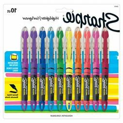 liquid accent pen style highlighters assorted colors