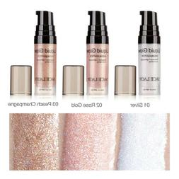 Liquid Highlighter 3 Color Shimmer Contour Cream Face Eye Ma
