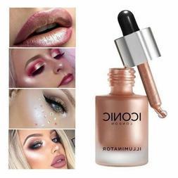Liquid Highlighter Concealer Face Makeup Illuminator Oil Glo