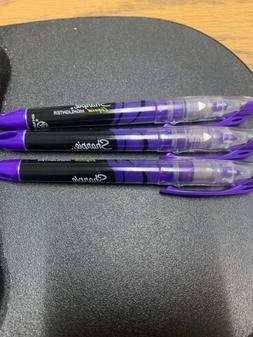 Sharpie Liquid Highlighter Fluorescent Purple Lot Of 3