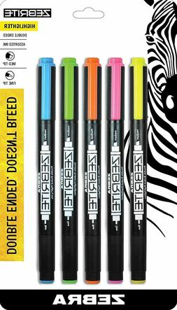 Zebra Pen Lunar Retractable Ballpoint Pens