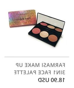 FARMASI MAKE UP 3 IN 1 FACE PALETTE - BRONZER, HIGHLIGHTER,