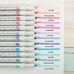 Zebra Mildliner Double-Sided Highlighter Pen Choose from 25