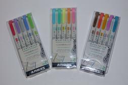 Zebra MildLiner Marker 5 Color Highlighter