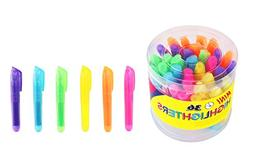 SKKSTATIONERY 36-Pcs Mini Highlighters, Highlighter Markers,