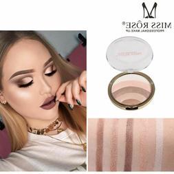 Miss Rose Rainbow Color Highlighter Bronzer Powder Eye Shado