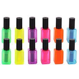 SunAngel Nail Polish Bottle Highlighter Pens - 12 Pack